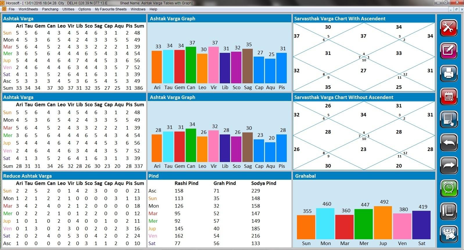 Professional Edition 5 0 - Astrology Software HOROSOFT